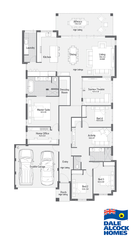 The Bottega I Floor Plan