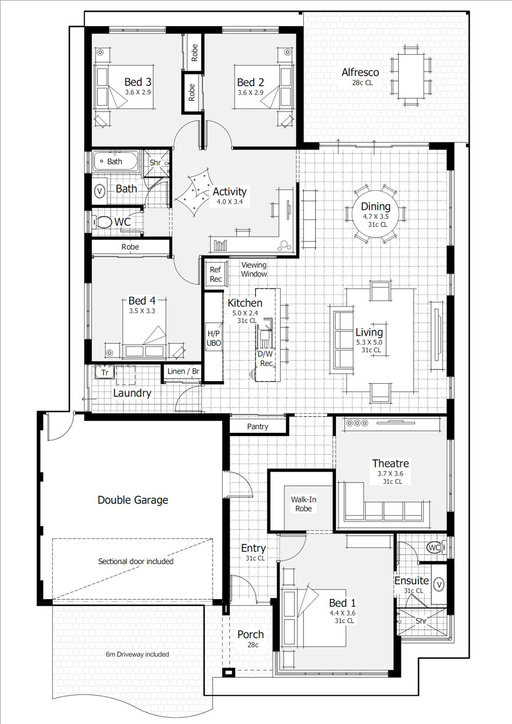 The Muse Floor Plan