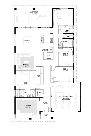 The Freeman Floor Plan