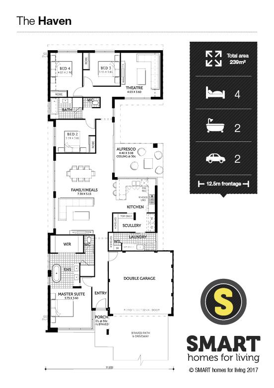 The Haven Floor Plan