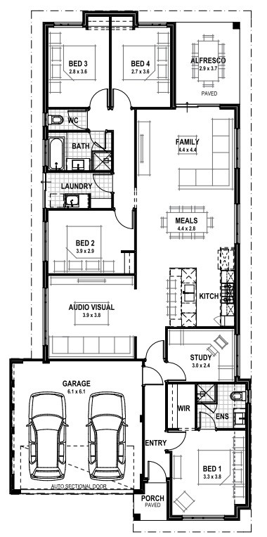 Tba 4 bph the edge blueprint homes floor plan similar tba 4 bph floor plan malvernweather Gallery