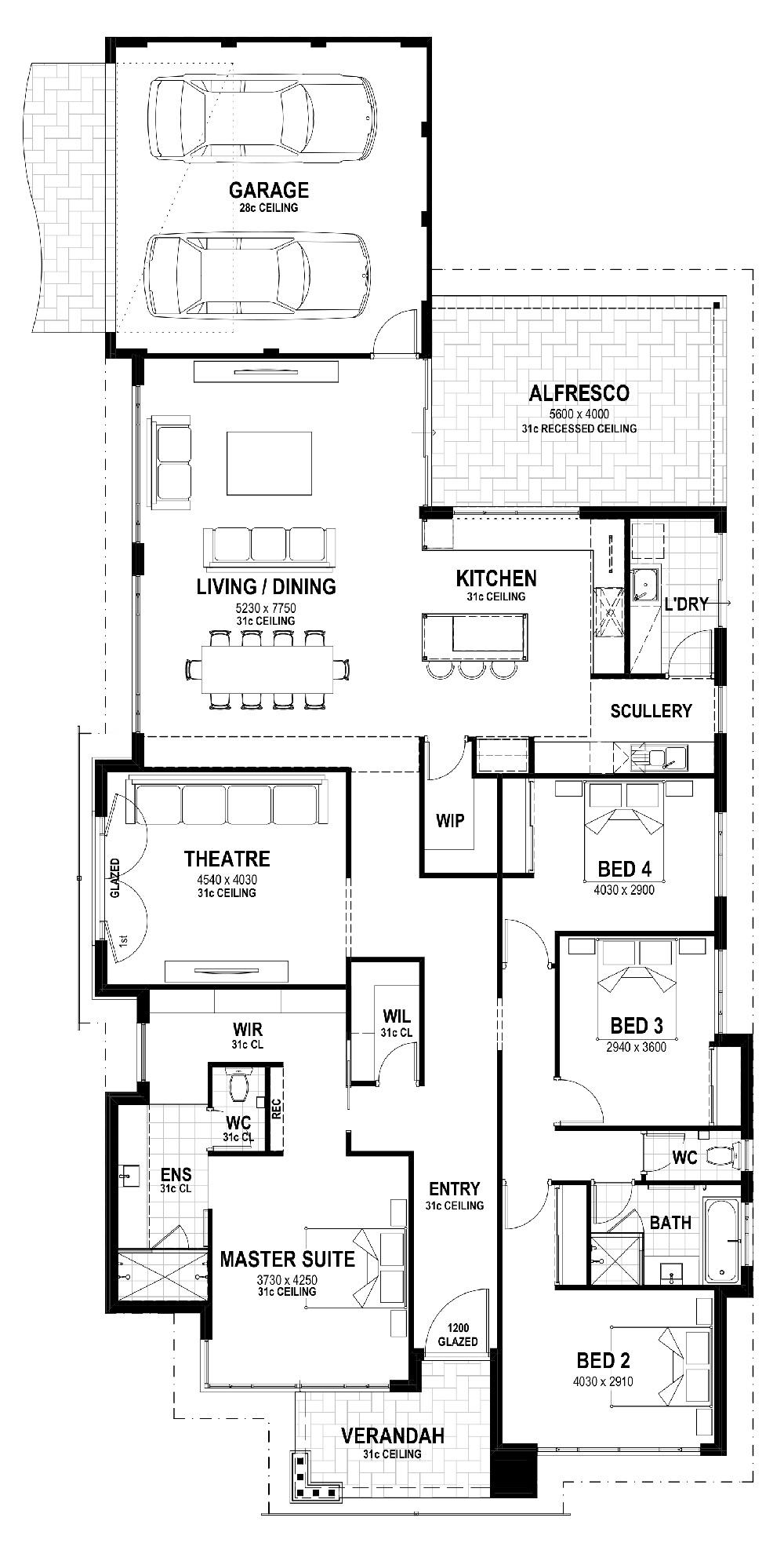 Oak Ridge Floor Plan
