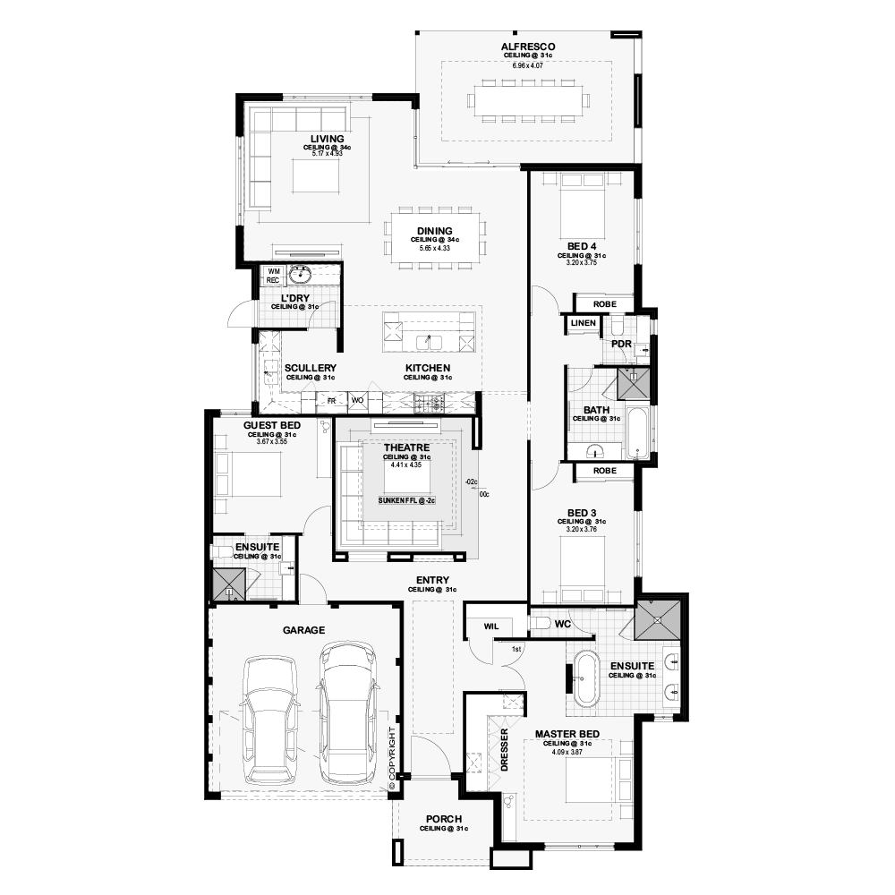 The Ridge Floor Plan