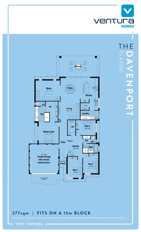 The Davenport Floor Plan
