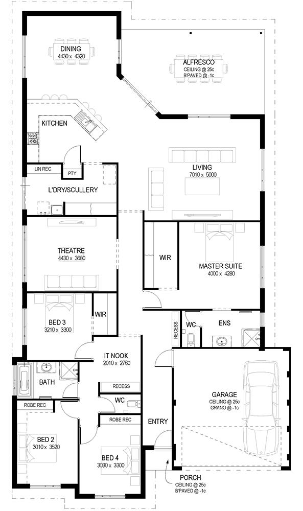 The Inheritance Floor Plan