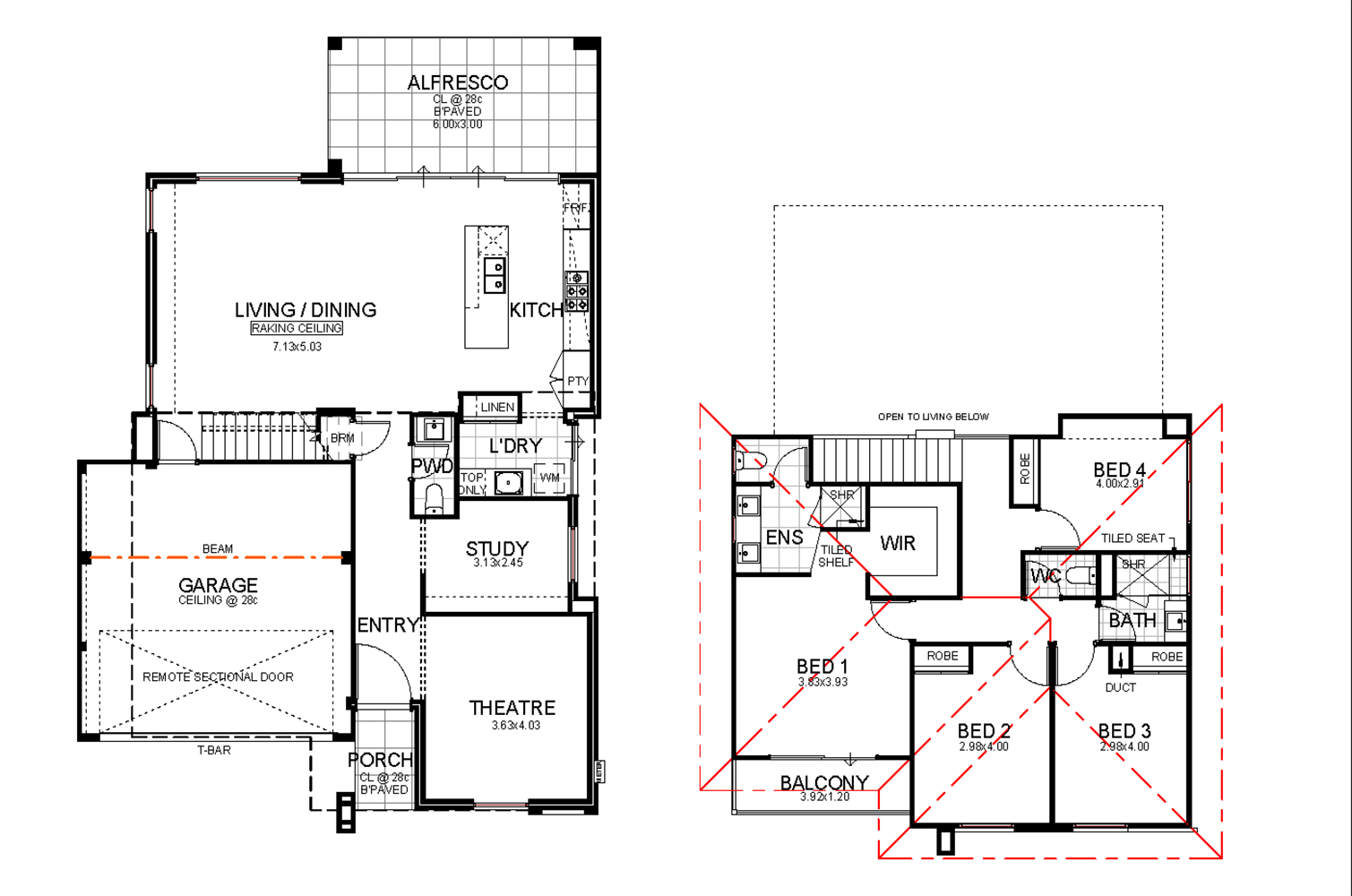 The Havana Floor Plan