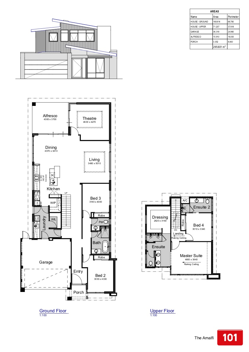 The Hamilton Floor Plan